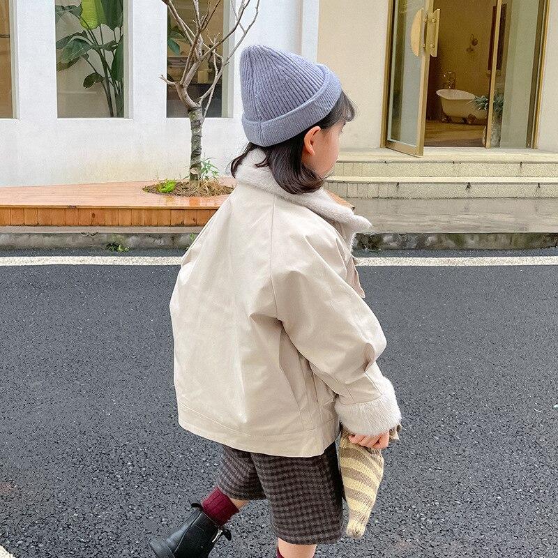 2021 Warm Fur Girl Winter Clothes Thick Windproof Baby Boy Snow Jacket Ourdoor Sport Girls Coats Waterproof Children Outerwear enlarge