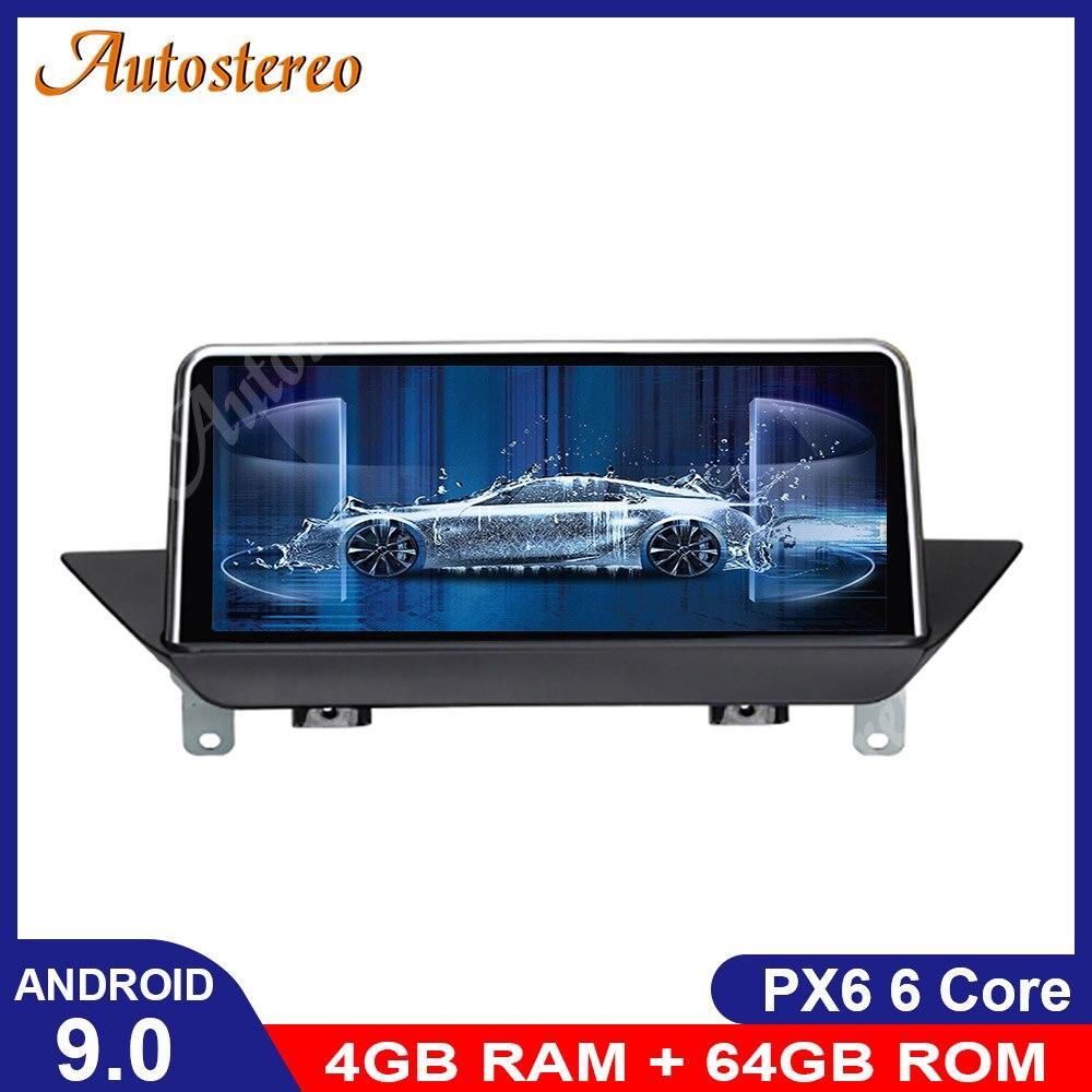 Android 9,0 IPS pantalla estéreo para coche para BMW E84 2009-2015 GPS para coche Navi pantalla con WIFI Google Carplay Idrive reproductor de DVD Radio Recorde