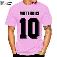 T-Shirt Offre Spéciale 2019 nouvelle mode No.10 Italia 90 marque col rond hommes t-shirts hommes Football Ringer Lothar Matthaus allemagne