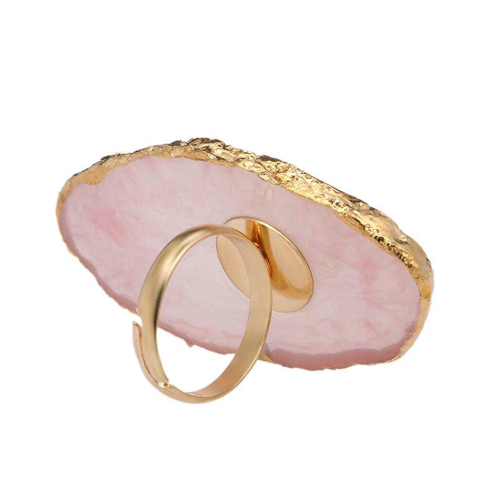 1 pc cristal cílios extensão cola anel jade pedra falso cílios cola resina anel cílios adesivo suporte pigmento prego paleta
