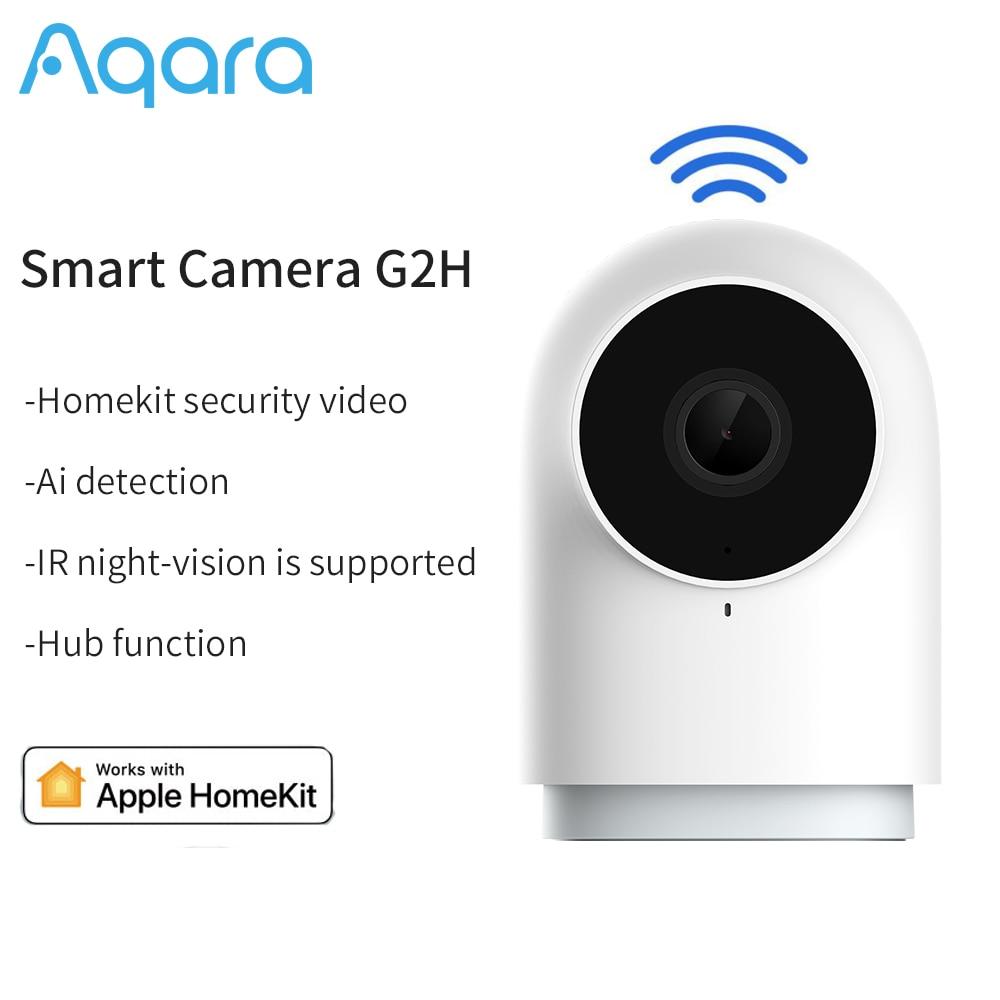 Aqara-G2H 1080P HD مراقبة الطفل ، كاميرا أمان للرؤية الليلية ، مراقبة الوقت الحقيقي ، Zigbee ، المنزل الذكي ، العمل ، تطبيق Homekit