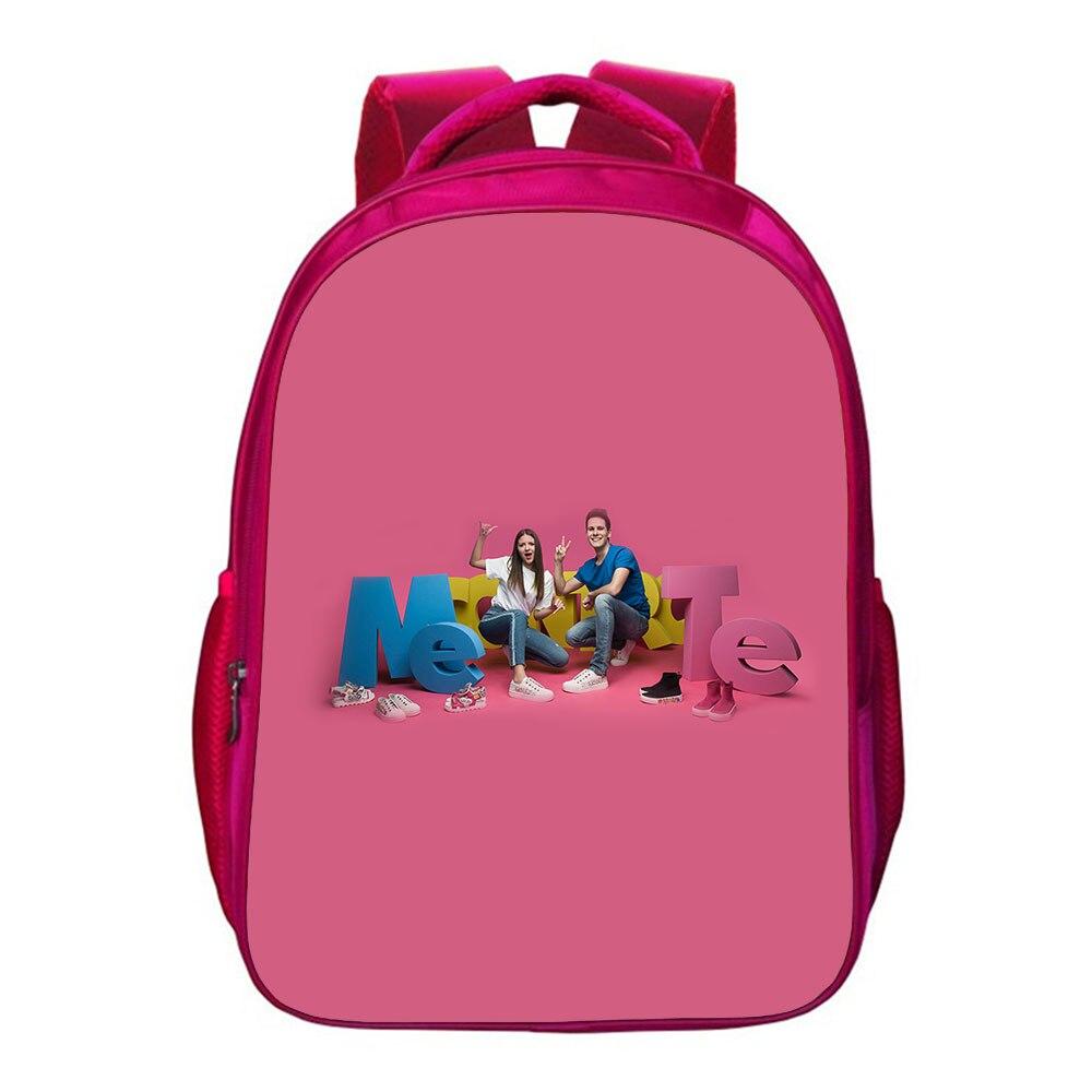 Модный повседневный рюкзак Me антиквариат для книг, школьный ранец для подростков, сумка для мальчиков и девочек с мультяшным принтом и надп...