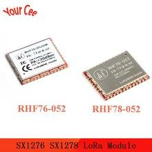 SX1276 SX1278 Module LoRa RHF76-052 RHF78-052 Module nœud LoRaWAN intégré STM32 faible puissance longue Distance 433 470 868 915MHZ