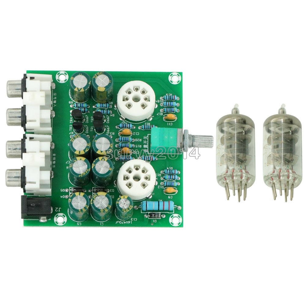 6J1 клапан предусилительная плата трубного предусилителя бас на музыкальной верности X10-D цепи