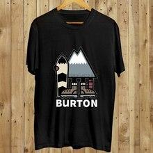 Burton Snowboards Logo Neue T-shirt Größe S-5XL