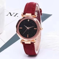 wokai fashionable casual womens watch sky the stars watches female students trend strap watches belt quartz watch customized