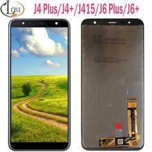 Nouveau pour Samsung J4 plus écran LCD tactile J4 + 2018 J4 Plus J415 J415F J410 J6 Prime J6 Plus 2018 J610 écran LCD écran tactile