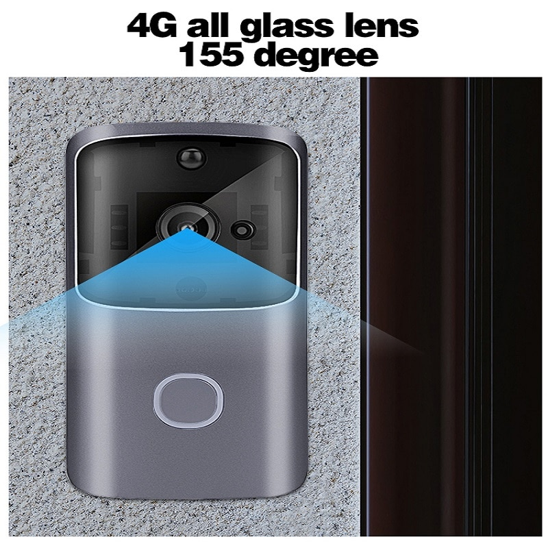 2Pcs/Lot M10 HD 720P Smart Wifi Video Doorbell Infrared Night Vison Camera Visual Intercome Phone Monitoring Doorbells enlarge