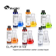 Bykski 150ml computer transparent Coolant water cooling liquid PC Anti-corrosion colorful Thermal fluid CL-FURY-X-V2