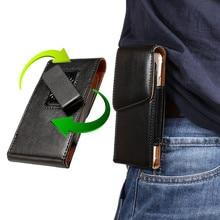 Telefon etui zaczep na pasek skórzana torba pokrywa dla Samsung Galaxy S20 S10 S9 S8 Plus A20 A30 A40 A50 A70 A80 A90 uwaga 10 9 8 talii skrzynki