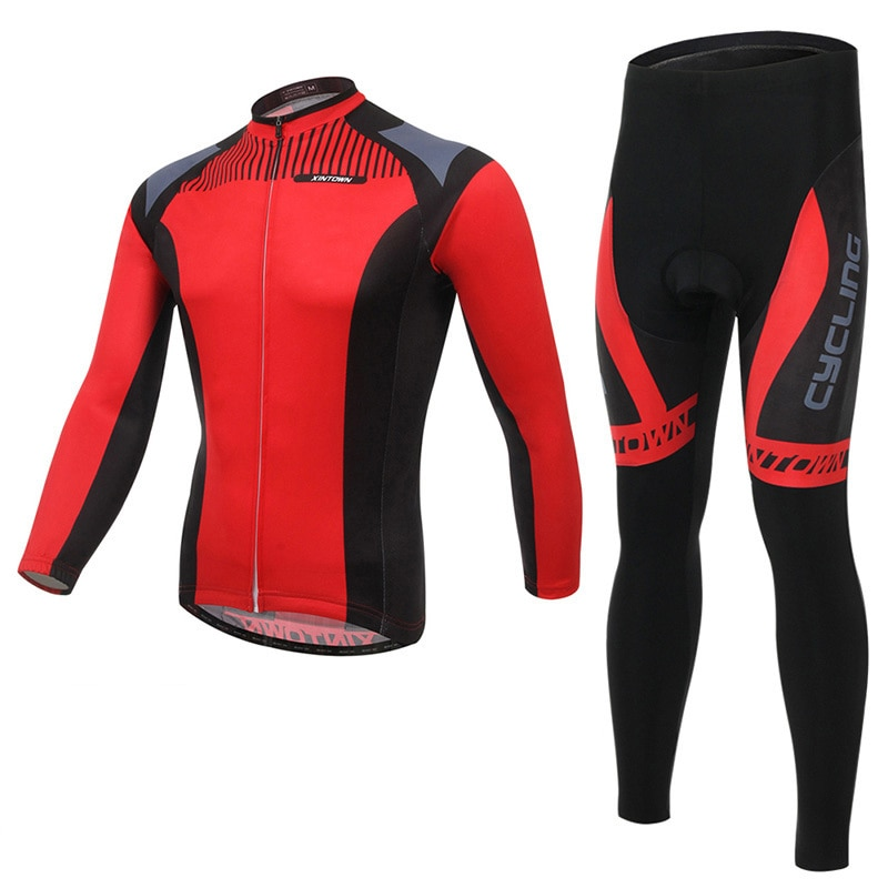 Jersey de Ciclismo para manga larga Hombre Nuevo otoño secado rápido transpirable bicicleta de carreras montaña bicicleta traje Maillot Ropa Ciclismo Hombre