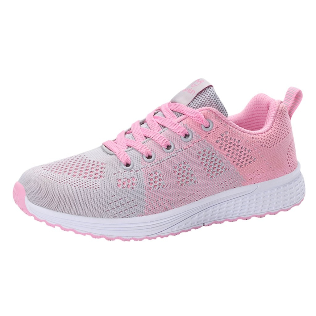 SAGACE Sneakers Women Mesh Solid Non-Slip Lace-Up Shoes Sneakers Casual Shoes women Vulcanized Student Shoes female Sneakers new