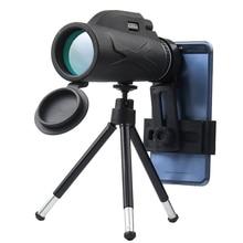 Puissant 80x100 grossissement élevé monoculaire professionnel télescope Portable Camping chasse Vision nocturne HD jumelles