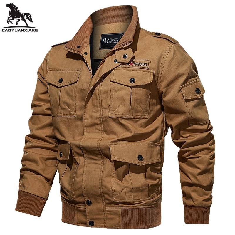 Мужская куртка, осенняя Новая ветровка, мужская куртка-пилот, однотонная мужская куртка-бомбер, Повседневная ветровка, мужская одежда 9963