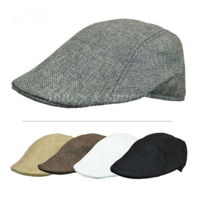 Autumn Winter Women Men Cap Hats Berets British Western Style Wool Advanced Flat Cap Classic Vintage
