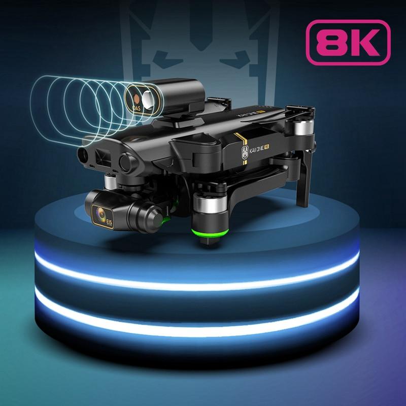 كاميرا المهنية لتحديد المواقع بدون طيار مع 3 محور استقرار Gimbal 4K 6K 8K 5G FPV فرش أجهزة الاستقبال عن بعد تجنب عقبة الطائرات بدون طيار