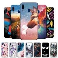 Custodia per Samsung Galaxy A20 custodia A205FN custodia morbida in Silicone TPU sottile per Samsung A20E A20 A20S A 20E A 20 Cover per telefono