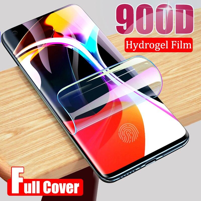 For Xiaomi Mi 9 CC9 Note 10 Pro CC9e Screen Protector Full Glue Cover Hydrogel Film For Redmi Note 7 8 K20 Pro K30 No Glass