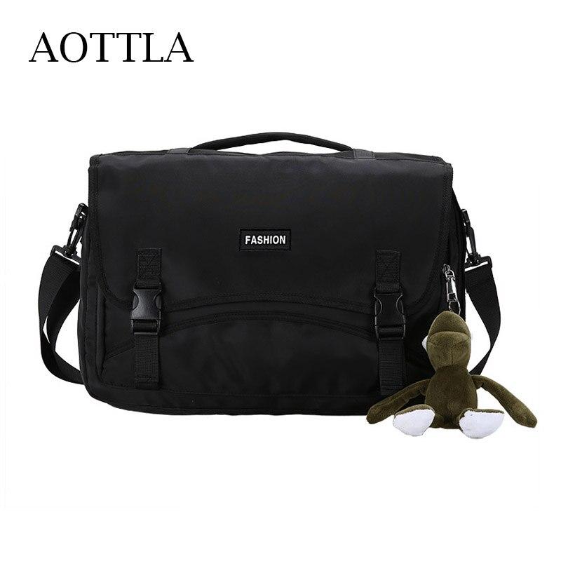 AOTTLA Shoulder Bag Men's Crossbody Bag Casual Unisex Backpacks Large Capacity Men Handbag Multifunc