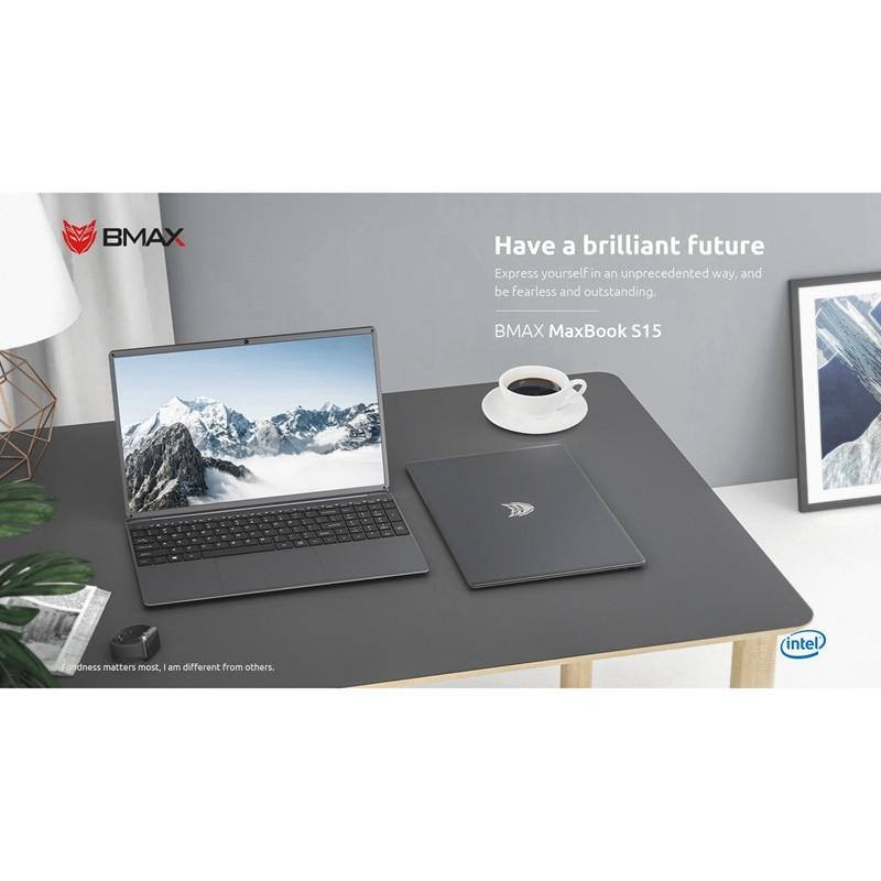 BMAX S15 portátil de 15,6 pulgadas 1920x1080 IPS Intel lago Géminis N4100 Quad Core 8GB RAM LPDDR4 128GB ROM SSD Windows 10 cuaderno nos