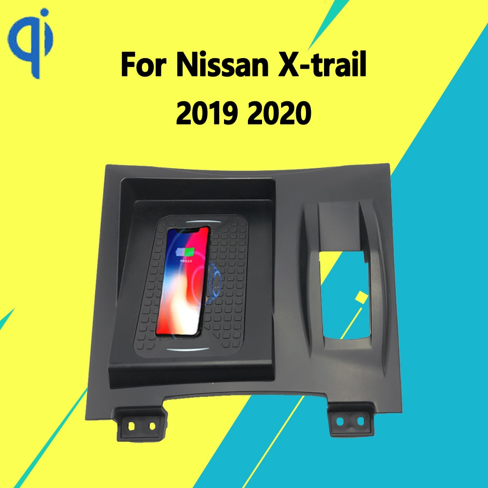 Review For Nissan X-trail(Right Drive) 2019 2020 Center Console 15W Qi Fast Charging Car Wireless Charger Pad Android Iphone Holder
