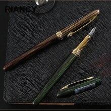 HIGH QUALITY Metal Fountain pen ink pen nib calligraphy Stationery luxury Penna stilografica Stylo plume Caneta tinteiro 03821