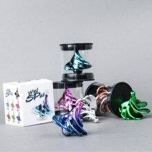 Creativo Pneumatico Fidget Spinner Mini Vite Filo di Vento che soffia Auto rotazione A Mano Spinner WinSpin Lo Stress Relief Giocattoli Per I Bambini