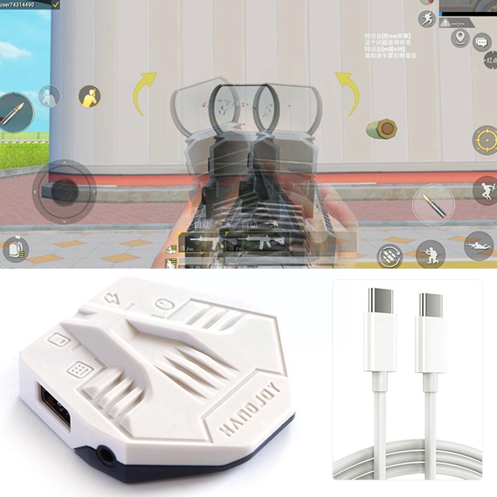ل Handjoy K6 المحمول تحكم الألعاب لوحة المفاتيح الماوس غمبد وحدة التحكم ل أندرويد لعبة نوع-c محول محول اكسسوارات O5j4