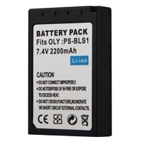 7 4v 2200mah battery for olympus ps bls1 camera rechargeable battery pack for ep2 epl1 epl2 ep1 ep2 bls5 e 400 camera battery