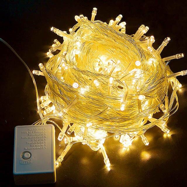 Outdoor christmas led string lights 100M 50M 30M 20M 10M 5M Luces Decoracion fairy light holiday lights lighting tree garland