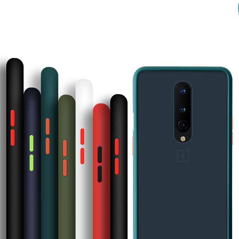 Shockproof Armor Silicone Case For Oneplus 7T 7 8 Pro 6T 6 Cover For One Plus 1 6T 7 7T 1 7 1 7T Pro