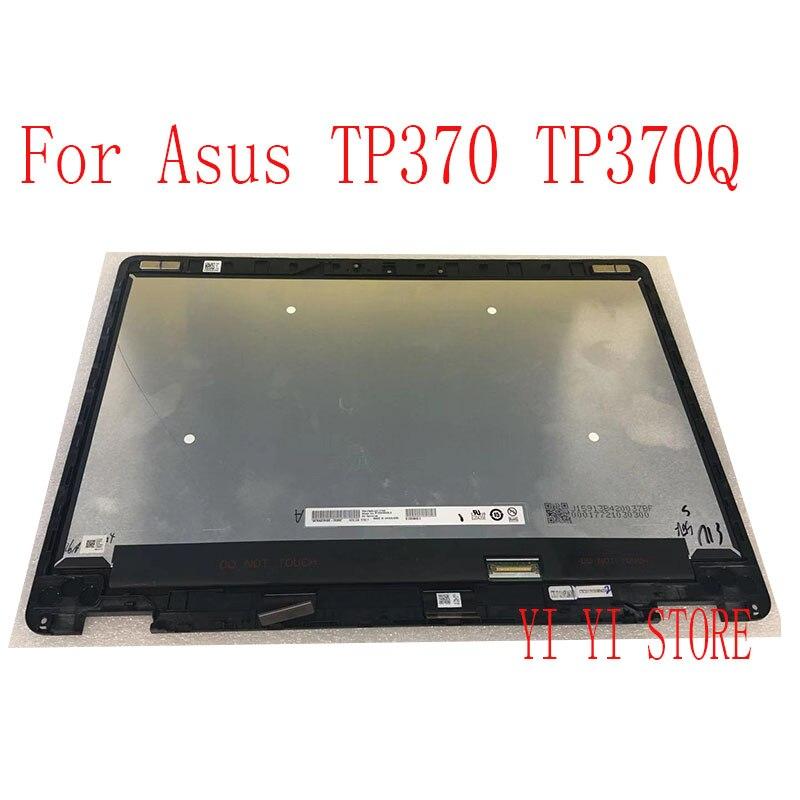 شاشة LCD كاملة مع شاسيه ، لجهاز ASUS TP370QL TP370 TP370Q B133HAN05.3 FHD 1920*1080