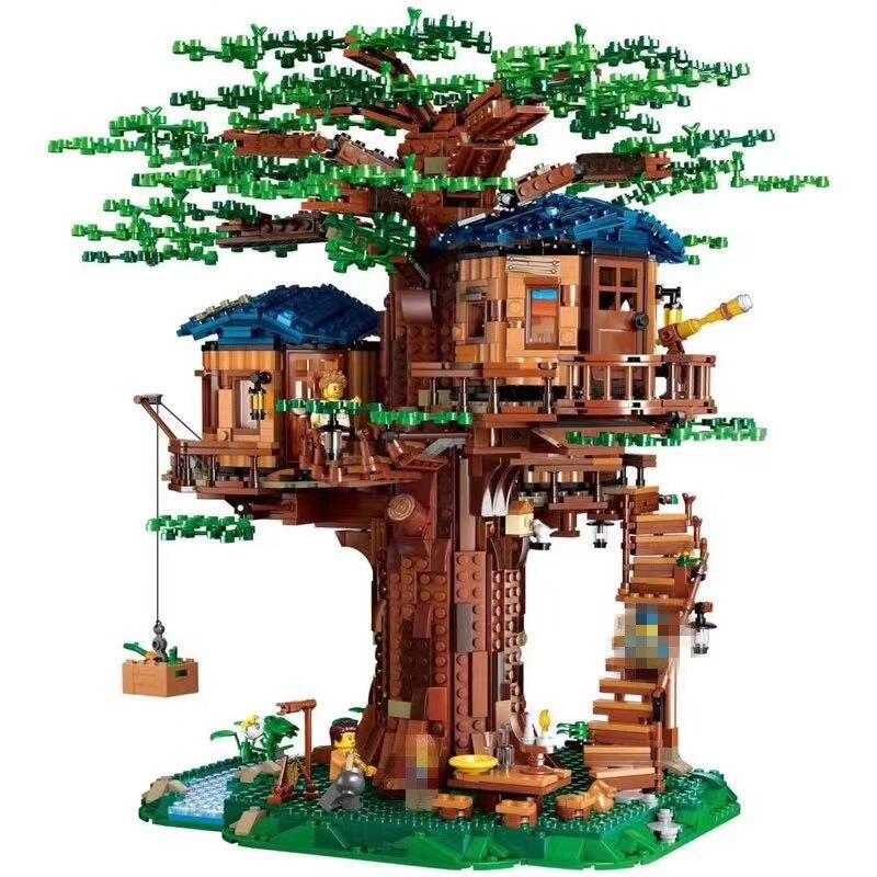21318 City Street View Idea Lepining Friends Technic Creator House Tree  Model  Building Blocks Toys Kids Educational Toys Gifts