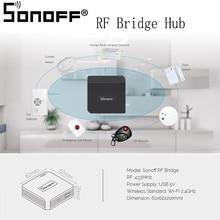 Commutateur universel dautomatisation de contrôleur du Hub 433 MHz de pont de Sonoff RF télécommande intelligente de Wi-Fi de remplacement pour le téléphone dios/Android
