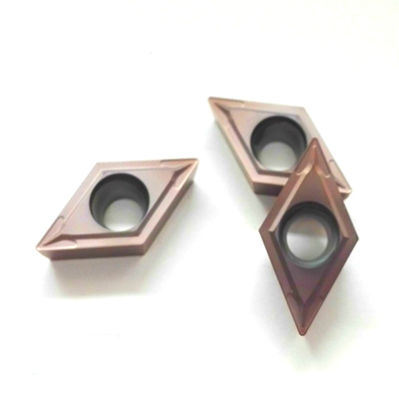 10P DCMT11T304 LF6018 DCMT11T308 MV LF6018 DCMT070204 LF6018 CNC lathe tool turning carbide insert for stainless steel enlarge