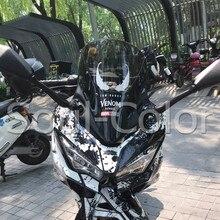 Motorcycle Accessoris Windshield WindScreen Visor Viser Fit For KAWASAKI NINJA250 400 NINJA400 18-19 2018 2019