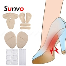 10Pcs Silicone Pads for Women's Shoes Inserts High Heels Accessories Forefoot Shoe Pads Heel Liners