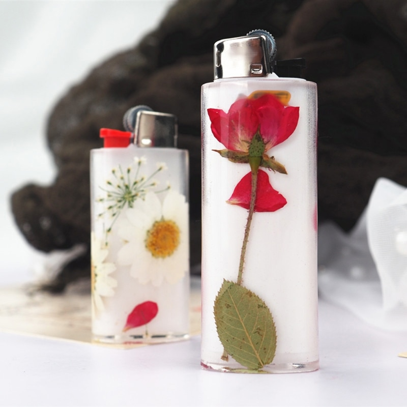 2Pcs Universal Cigar Lighter Protective Cover Punch Epoxy Resin Mold Art Crafts