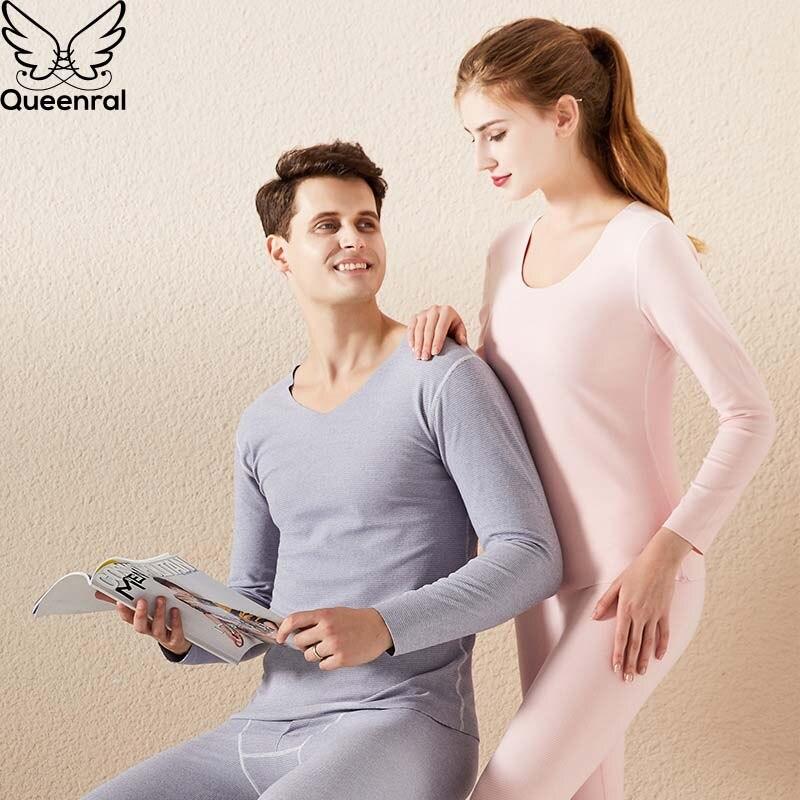 Queenral camiseta termica mujer conjunto de ropa interior térmica, calzoncillos largos para hombre y mujer, ropa térmica cálida para hombre y mujer, traje de invierno, conjunto de pijamas de tamaño grande