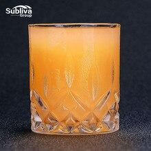 Verres à Whisky en verre cristal 230ML   Verre à Whisky Unique et élégant, verre à liqueur pour fête à la maison, verre à Whisky de mariage, cadeau