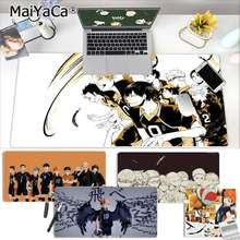 MaiYaCa حار مبيعات أنيمي Haikyuu كبير ماوس الوسادة جهاز كمبيوتر شخصي حصيرة شحن مجاني كبير ماوس الوسادة لوحات المفاتيح حصيرة