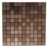 1pc 3030cm wall sticker tile brick adhesive self aluminum composite panel mosaic kitchen bathroom home decor parts