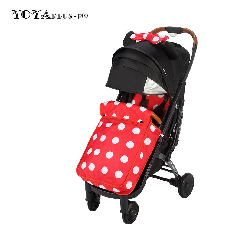 yoyaplus-pro factory directly baby stroller with same color footcover