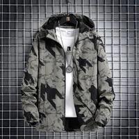 2021 spring mens new large hooded windbreaker jacket loose coat loose letter print free postage in russia 109 5885