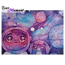 Ever Moment diamant peinture mosaïque univers espace costume planète plein carré point de croix strass diamant broderie ASF1848