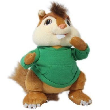 25/35cm plush Alvin And The Chipmunks Lucky doll cute cool toy good quality Pillow Christmas Halloween gift for kid