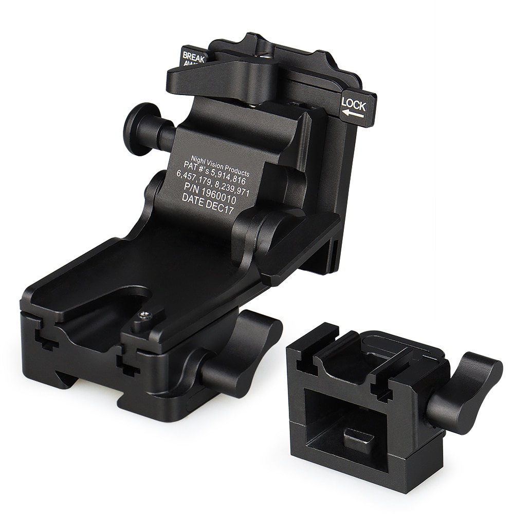 PPT Aluminum Alloy Night Vision Goggles Mount NVG Arms Mount for PVS-7 PVS-14 PVS-15 PVS-18 PVS-21 Mounting Helmet GZ24-0237