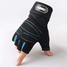 Gants de sport demi-doigt unisexes   Pour course, Jogging, randonnée, cyclisme, Fitness, haltérage, antidérapant