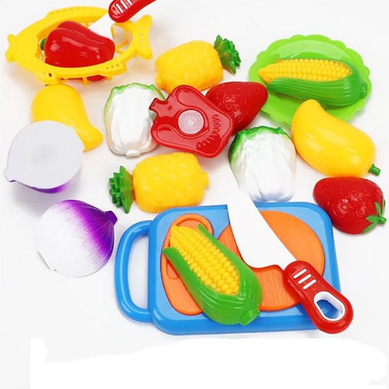 Режущие фрукты и овощи, ролевые игры, Детские кухонные игрушки, детская игрушка для игрового домика, ролевые игры, детские развивающие игруш... ролевые игры ami