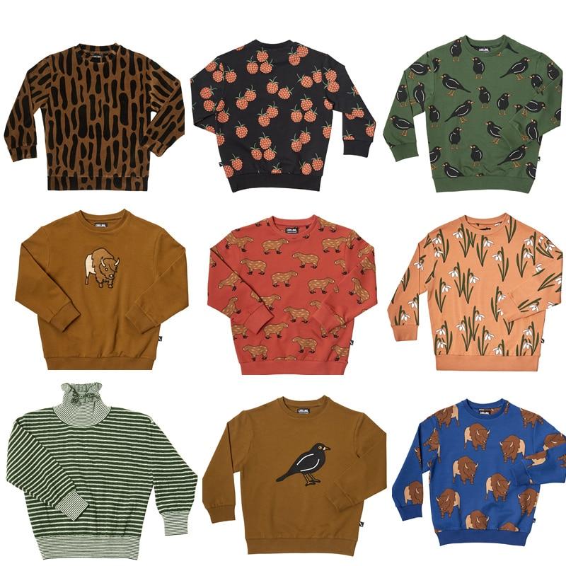 Camisetas de manga larga para niños, marca Car 2019, Otoño, sudaderas para niños y niñas, camisetas de leopardo, camisetas de moda para bebés, ropa